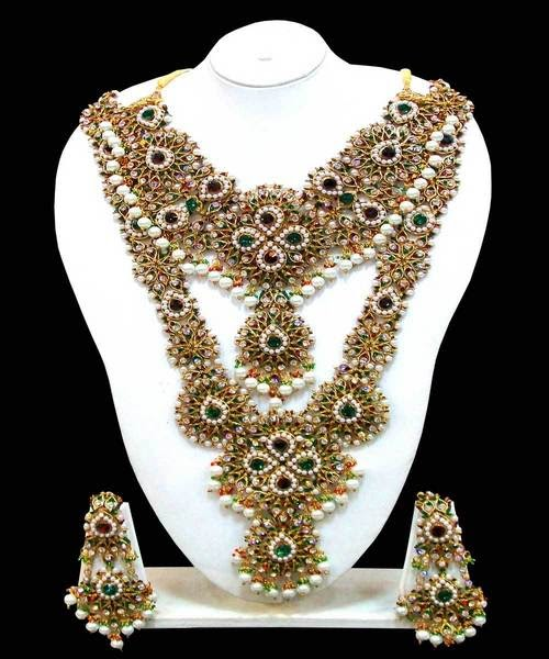 Pakistani Bridal Jewellery Set Picture 5