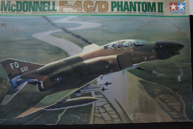 F-4 C/D Phantom II  Tamiya 1/32