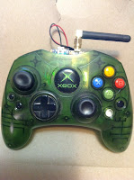 XBox Controller: Embedded Arduino and RF/Wireless Mod