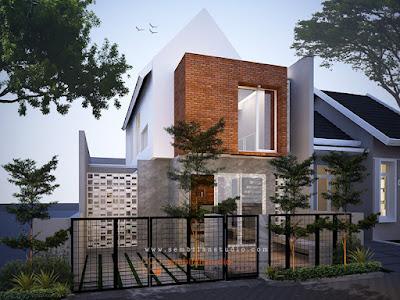 rumah minimalis dengan sentuhan industrial PT Prospera Jaya Group