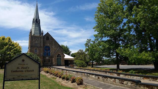 St. Paul's Lutheran Church, Hahndorf, SA