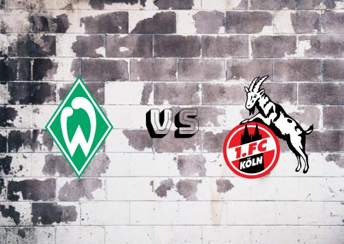 Werder Bremen vs Köln  Resumen