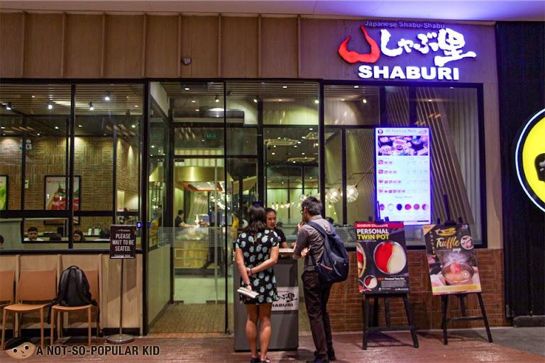 Shaburi Japanese Hotpot in Uptown Mall. BGC