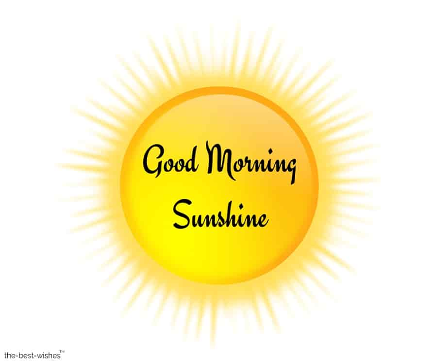 good morning sunshine wallpaper