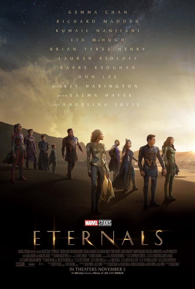 Eternals (Trailer Film 2021) Eternii