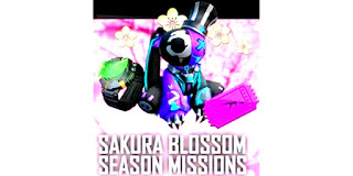 Tophat Bunny backpack skin from Sakura Blossom season missions in Free Fire