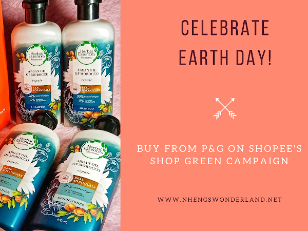 Celebrate Earth Day with P&G Herbal Essences Products!