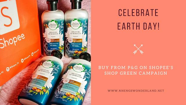 Herbal Essences Repair Argan Oil Shampoo + Conditioner 400mL