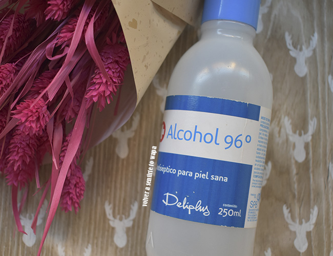 Alcohol 96º de Mercadona