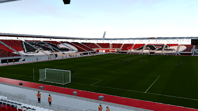 PES 2019 Stadium AFAS Stadion [ Reworked Lightning ]