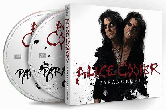 ALICE COOPER - Paranormal [Digipak 2-CD Edition] (2017) discs