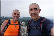 Lekanda mendiaren gailurra 1.309 m. - 2018ko ekainaren 30an