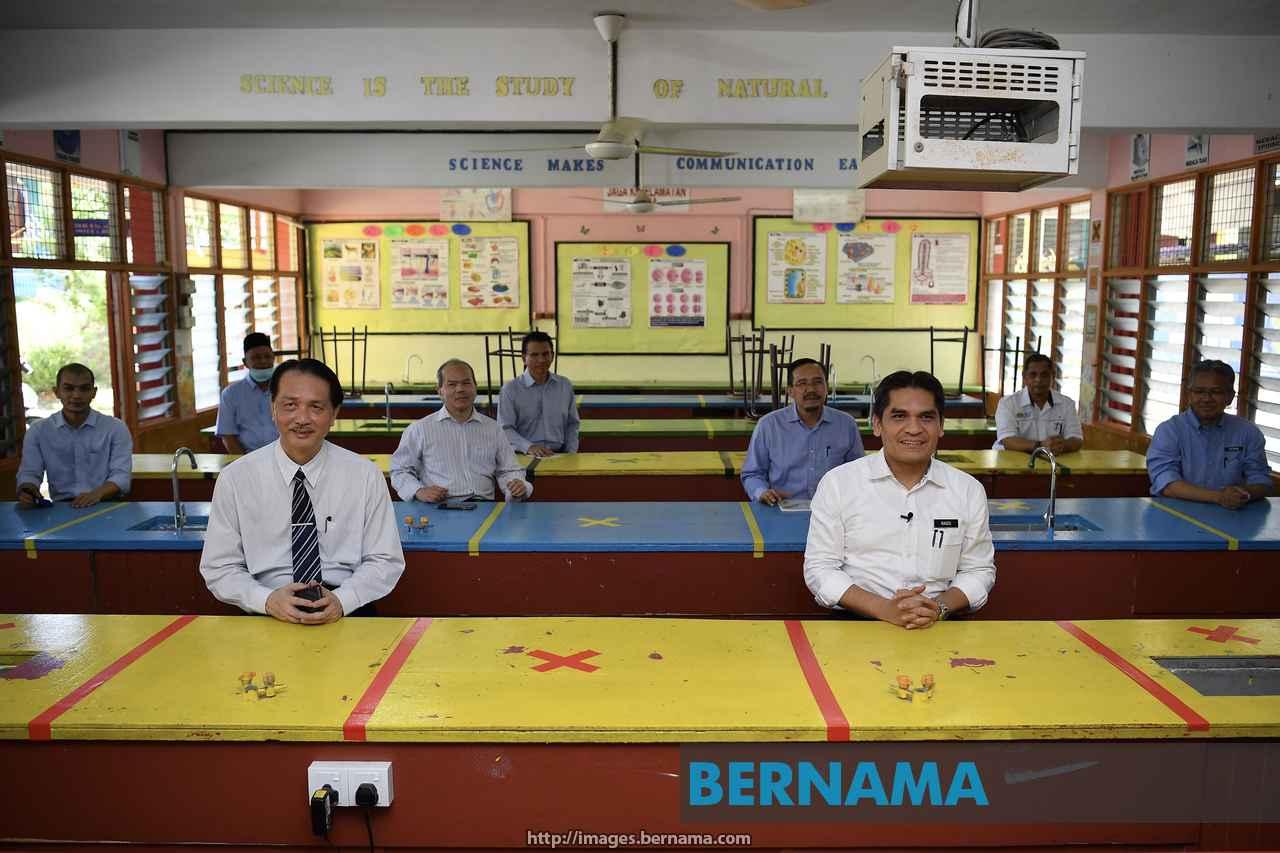 kkm, kementerian pendidikan berbincang tarikh pembukaan sekolah