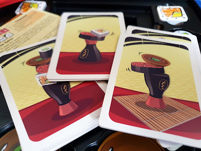 Maki Stack family sushi game card examples