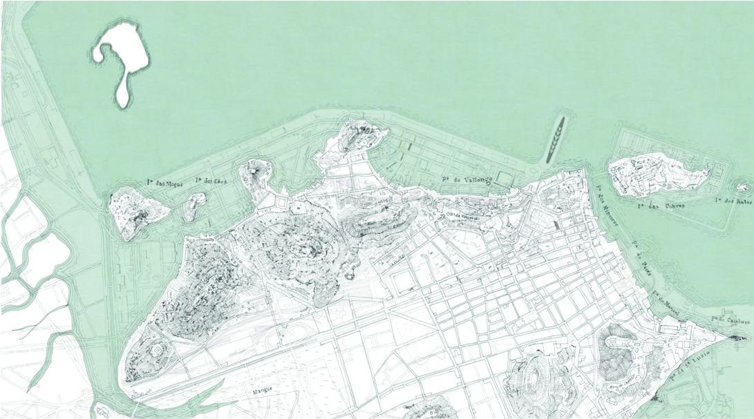 figura 02 - Mapa Zona Portuária sobreposição
