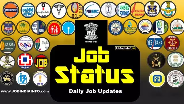 list of all current government jobs of India