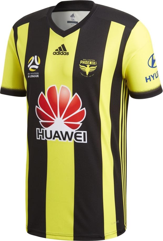 0496a0b10e Adidas divulga as novas camisas do Wellington Phoenix - Show de Camisas