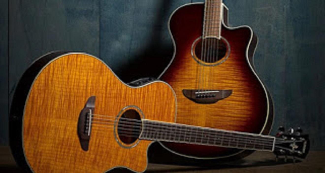 gitar akustik elektrik yamaha termurah