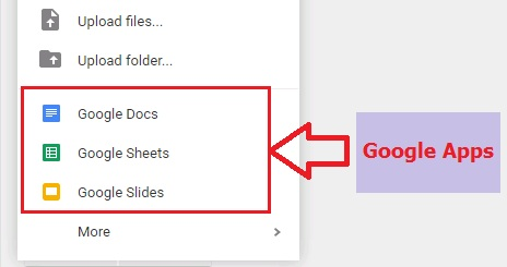 google drive me google apps use kaise kare - solutioninhindi