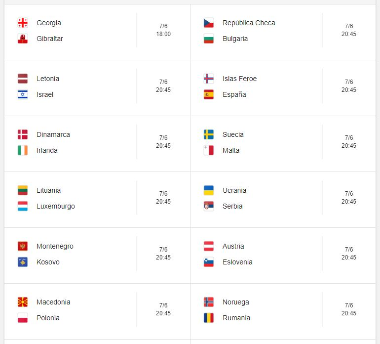 Mundial Rusia 2020 Calendario.Marzo 2019 Buscar De Todo
