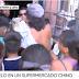 (videos) ROSARIO: SUPERMERCADO CHINO REGALABA COMIDA Y LE INVADIERON EL COMERCIO