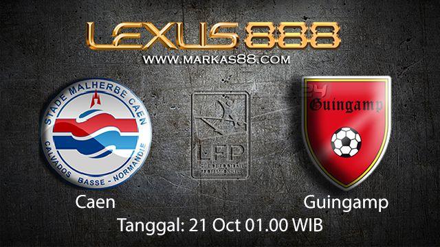 Prediksi Bola Jitu Caen vs Guingamp 21 Oktober 2018 ( French Ligue 1 )