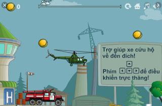 Chơi game trực thăng hỗ trợ