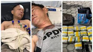 Salah Seorang Perwira di Ditreskrimum Polda Riau Ditangkap Bawa 16 Kg Sabu
