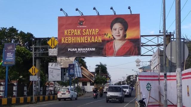 Kemunculan Baliho Puan Tuai Kritikan, Legislator PDIP: Mungkin Lawan Menganggap Jadi Ancaman