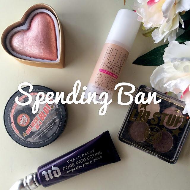 Makeup Spending Ban Tips & Tricks