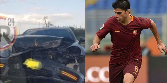Accident Until Cars Destroyed, Here's The Condition of AS Roma Star
