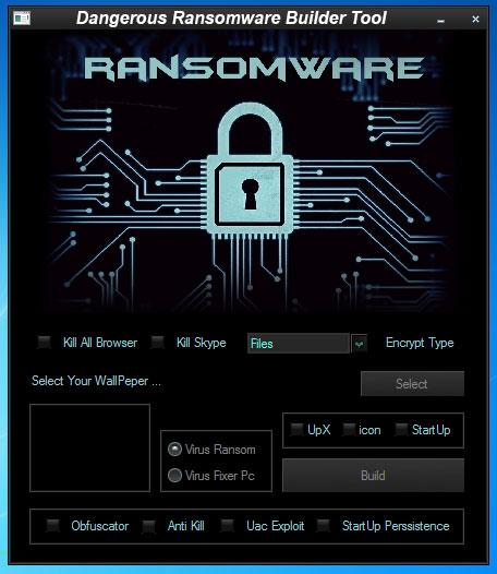 Dangerous Ransomware Builder Tool