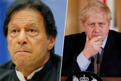 Imran Khan Boris Johnson