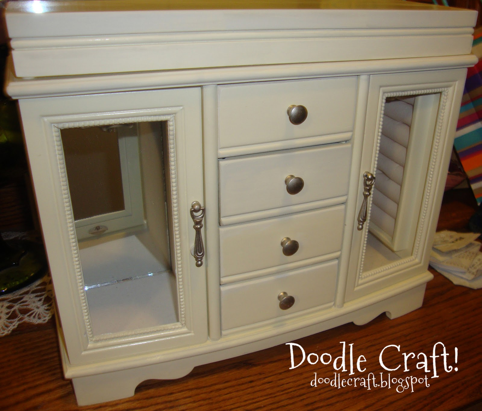 Table Top Jewelry Armoire Home design ideas