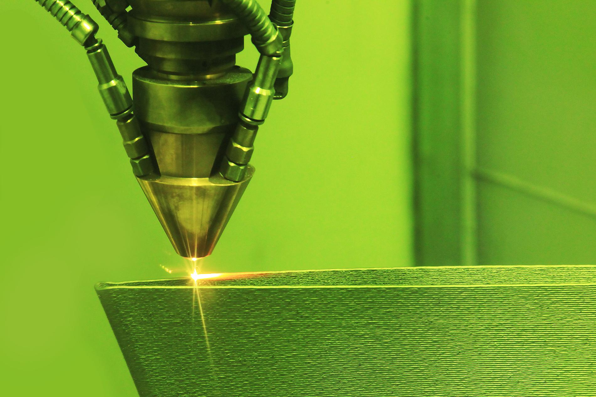Integrated 3D printing zone at Dubai Expo venue