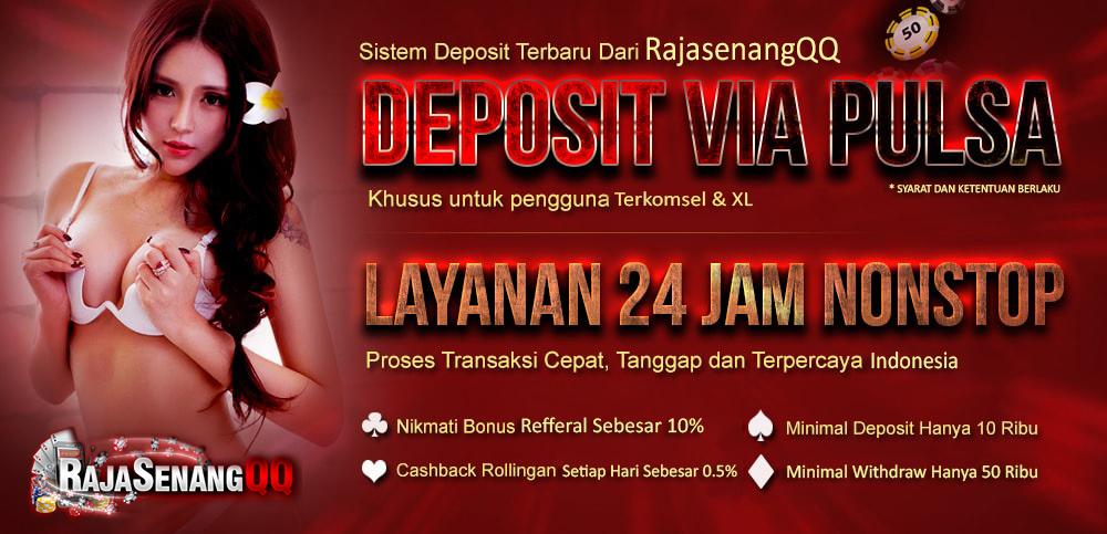 Situs Judi Poker Online Deposit Pulsa Terbaik Indonesia