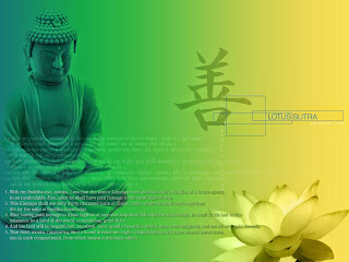 Buddha principles and teachings in picture