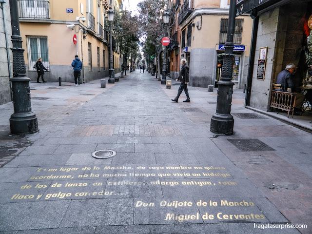 Barrio de las Letras, Madri
