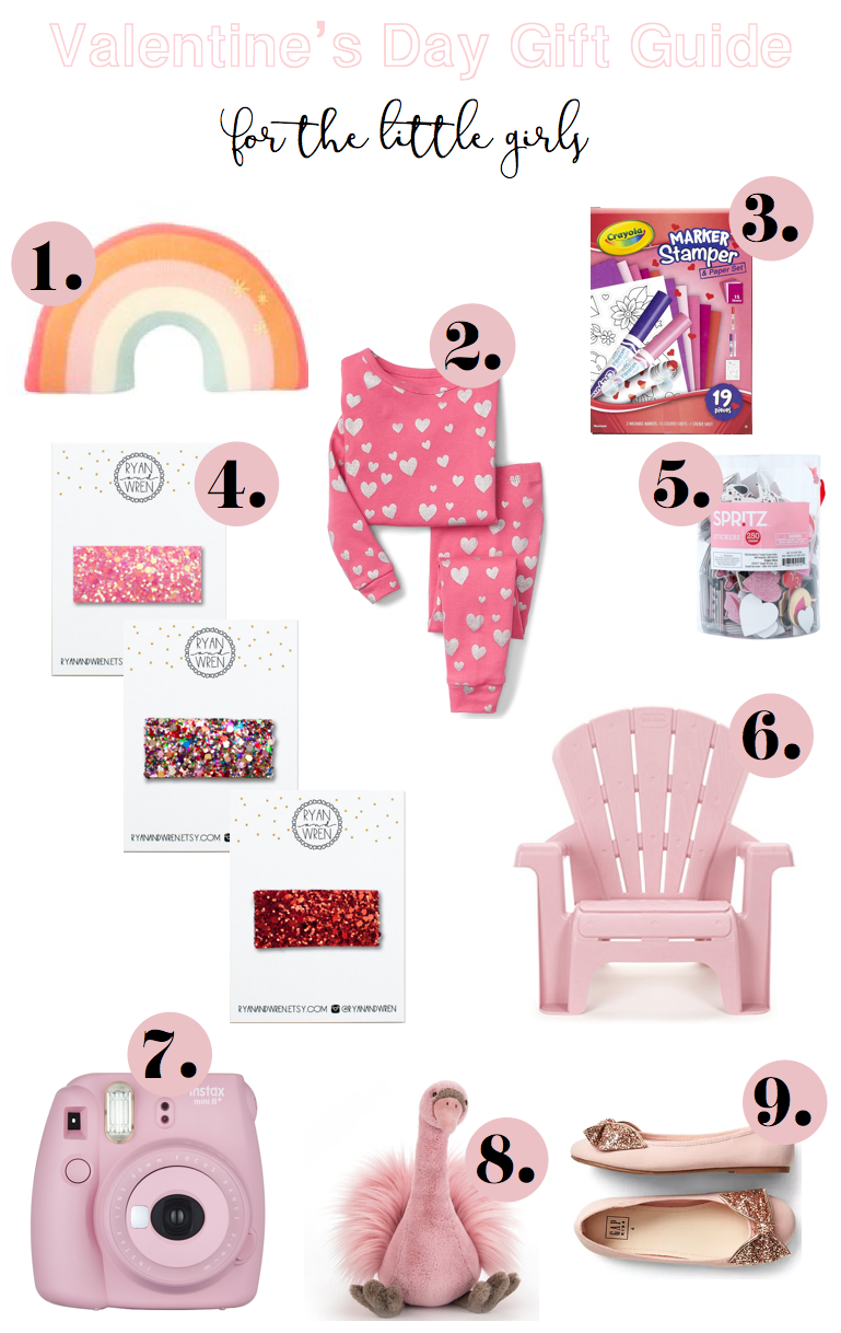 Valentine's Day Gift Guide for the Little Girls