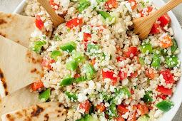 GREEK QUINOA BOWLS #healthydiet #veggies
