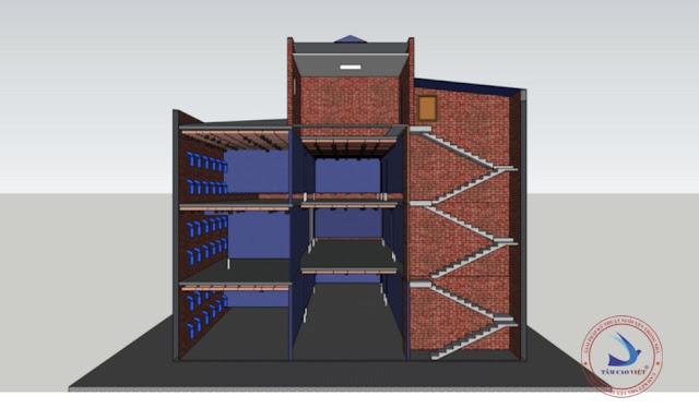 Thiết kế nhà yến 3D tại An Giang