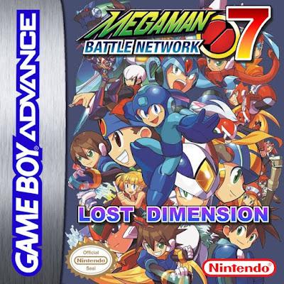 Megaman Battle Network 7 Lost Dimension