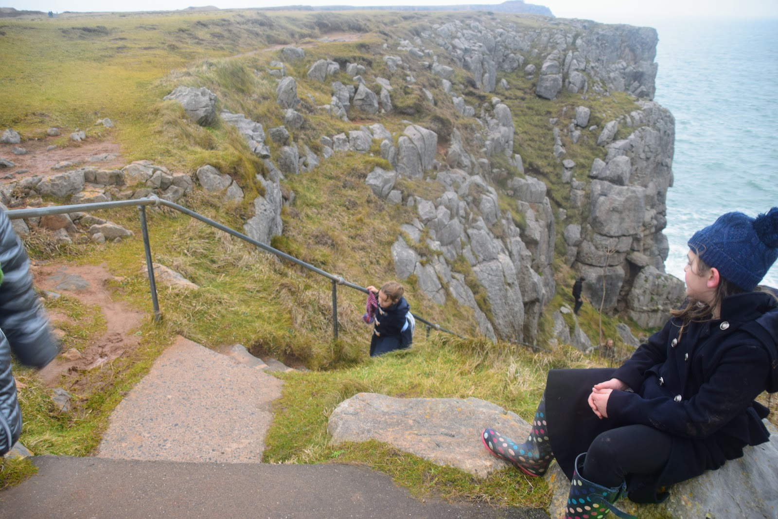 , Visiting The Little Chap, St Govan's Head, Pembrokeshire