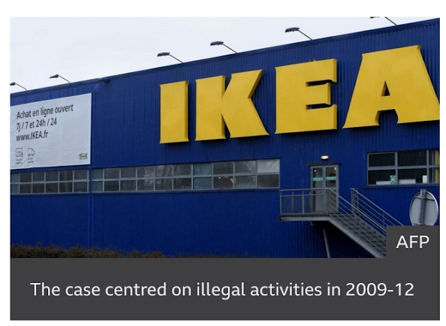 Former Ikea France CEO fined after Swedish furniture chain found guilty of spying on staff