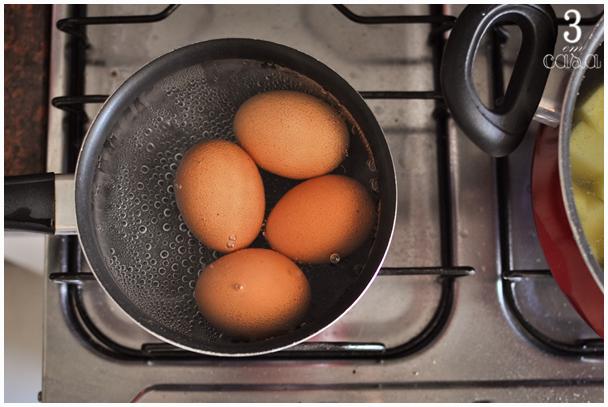 salada de ovos com bacon como fazer