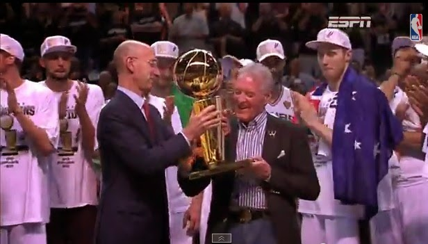 Spurs dethrone Heat, win 5th NBA crown