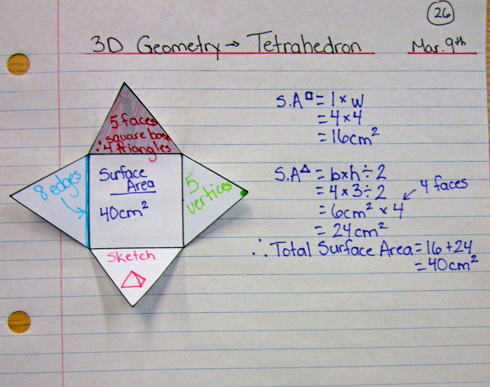 Pyramid Math Net Math Journal Sundays Images