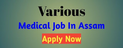 Medical Job In Assam 2019 । Assam Hospital Job By Govt Job Of Assam