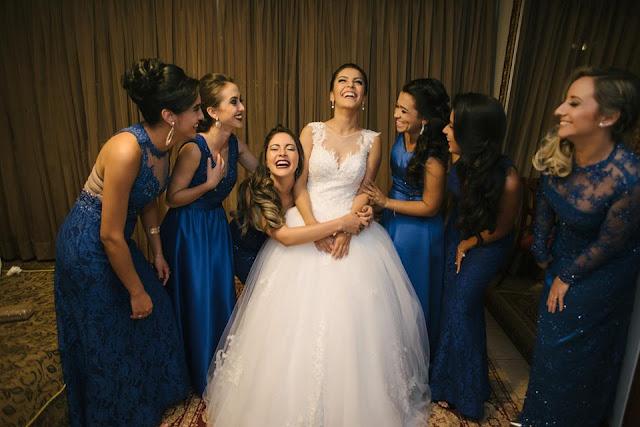 casamento real, casamento real Rafaela e Lucas, dia da noiva, making of, noiva, madrinhas, azul