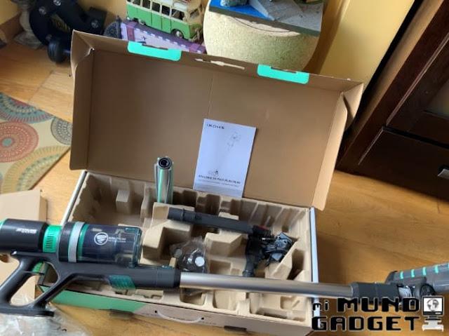 Ikohs Cyclonic DC-Flux 29,6V: Contenido de la caja 2